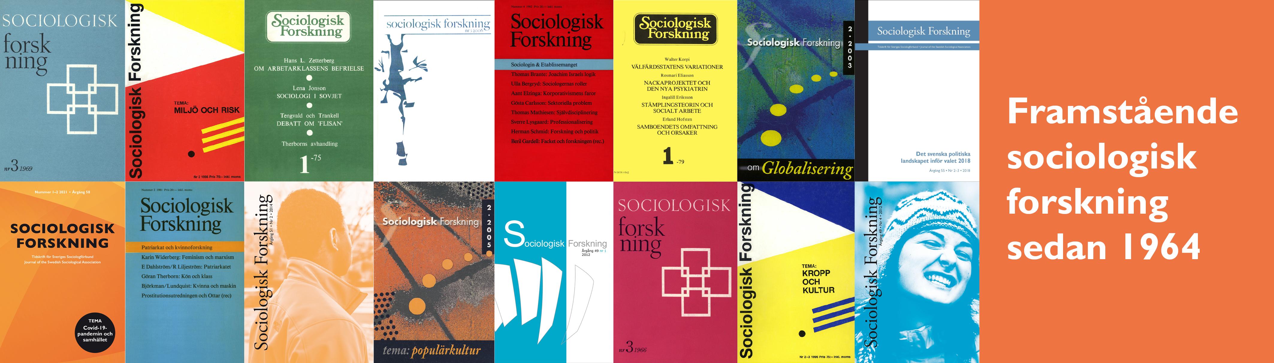 Sociologisk Forskning i framkant